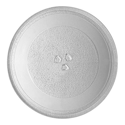 Genuine WP8172138 Microwave Turntable Glass Tray Plate by AMI PARTS Turntable Size: 12 3/4' 12.75''(325mm), Compatible with Whirlpool Replaces 4358641 8172138 8184036