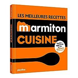 livre Les meilleures recettes de cuisine Marmiton