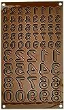 silikomart 26.174.77.0065 Stampi, Silicone, Marrone