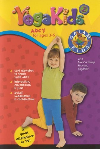 Yoga Kids 2 - ABC's for Ages 3-6 [DVD] by Marsha Wenig