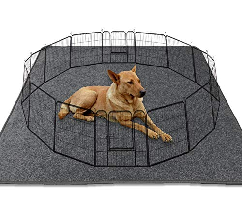 """Washable Dog Whelping Pad XXL Puppy Playpen Mat, 72""""x72"""" Reusable Puppy Pee Pads with Great Absorbency,Waterproof Dog Pee Pads Dog Floor Mat for Crate and Playpen Dog Play Mat for Whelping or Training"""