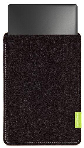 """WildTech Housse, pochette pour Lenovo Yoga Book (10,1"""") en feutre de laine véritable, 17 couleurs (fait à la main en Allemagne), personnalisable"""