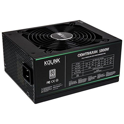 Kolink Continuum 80 Plus Platinum Fuente de alimentación, Modular - 1200 Watts