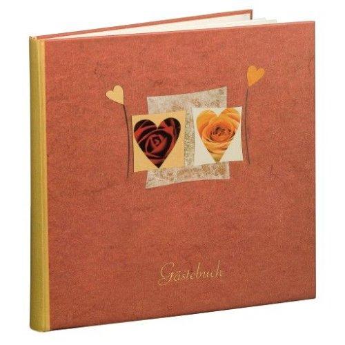 Hama Gästebuch Amore, 25 x 24 cm, 176 Seiten