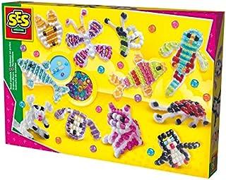 SES Creative Big Animals Bead Box