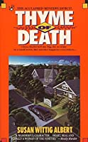 Thyme of Death (China Bayles Mystery)