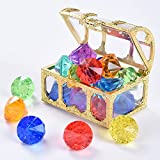 Juephe Diving Gem Pool Toy 12 Diamond Set...