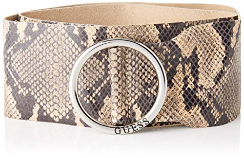 Guess Amy Belt Cinturón, Beige Chiaro, L para Mujer