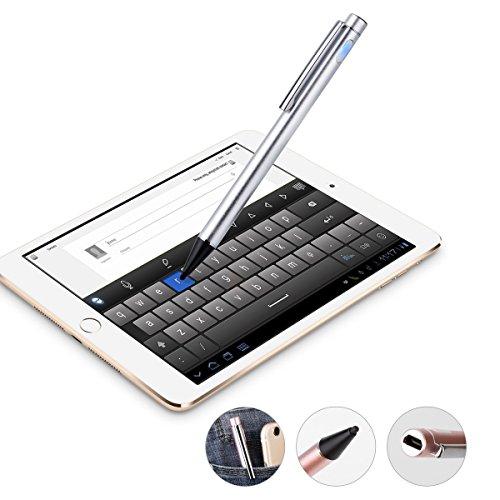 LiBangTai Stylus touch in alluminio, pennino a punta sottile da 2,0 mm, 2 confezioni per superficie, Smartphone, iPad, iPhone, Samsung,...