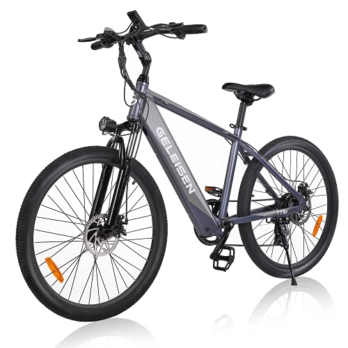 Electric Bike Adult, GELEISEN 26' 350W Ebike Electric Mountain Bike with 36V/10Ah Removable Battery,...