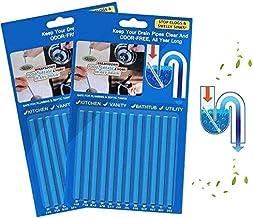 Drain Sticks Drainstix Drain Stix Drain Cleaner Sticks, 24 PCS Drainstix Clog Remover Sticks Pipe Bathtub Decontamination ...