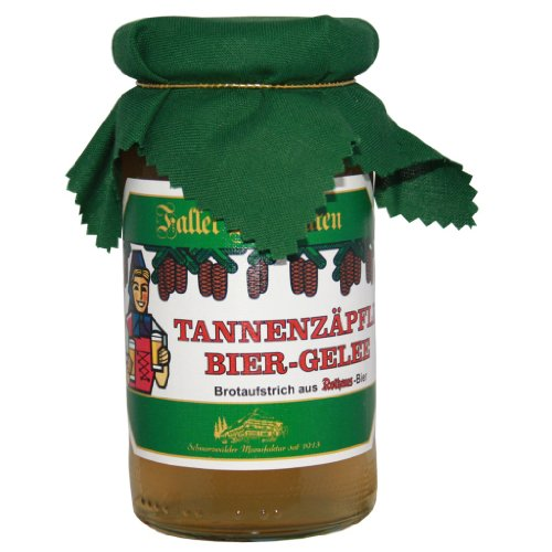 Marmelade Tannenzäpfle Biergelee-Brotaufstrich aus Rothaus Bier ... wie hausgemacht