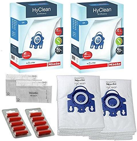 Pour s/' adapter pour aspirateur MIELE GN CAT /& DOG TT5000 S5000 S5261 S3800 Hyclean sacs x 5 et 2 filtres