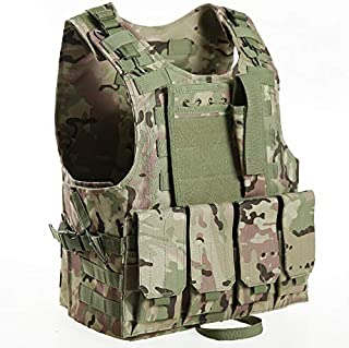 Invenko Trainning Tactical Airsoft Paintball Combat Swat Assault Army Shooting Hunting Outdoor Molle Police Vest