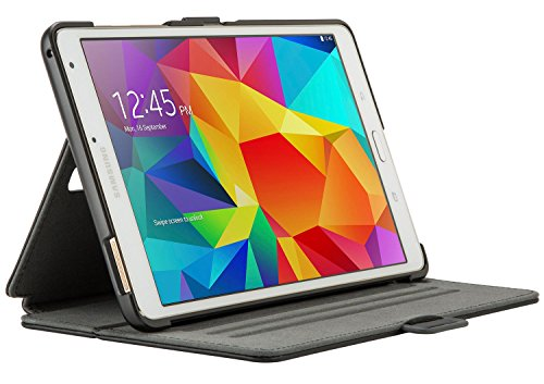 Speck Products StyleFolio Case and Stand for Samsung Galaxy Tab S 8.4, Black/Gray
