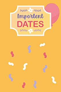 Important Dates: Birthdays, anniversaries, and reminders of important dates, including Celebrations book. Christmas Card T...