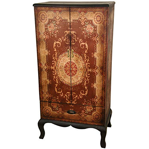 Oriental Furniture Olde-Worlde European Two Door Cabinet