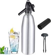 ALY Machine à Eau pétillante, Machine à Gazeifier l'eau préparation de Soda à partir d'eau du Robinet, gaz carbonique régl...