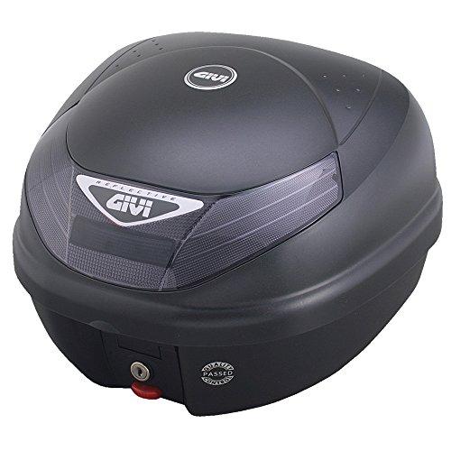 GIVI (ジビ) バイク用 リアボックス 30L 未塗装ブラック スモークレンズ モノロックケース E30TN2 94145