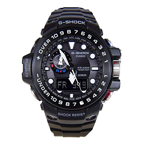 Casio G-Shock Superior Series GWN-1000B-1AER - Orologio da polso da uomo, digitale, al quarzo, in resina
