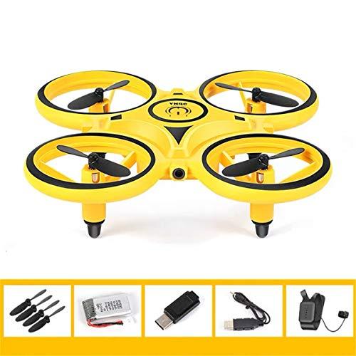 newwyt Interaktive Induktion Drohne Spielzeug Quadcopter LED Licht RTF UAV Flugzeug Intelligente Uhr Fernbedienung UFO Drohne Kinder Geschenk