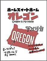 【FOX REPUBLIC】【オレゴン アメリカ 地図】 白光沢紙(フレーム無し)A3サイズ