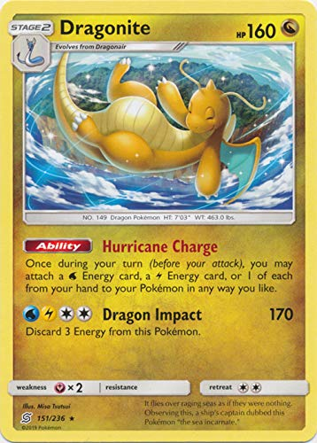 Dragonite - 151/236 - Rare - Unified Minds