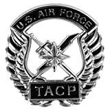 Air Force Tactical Air Control Party (TACP) Beret Crest Badge (Military Issued)-Veteran Owned Business