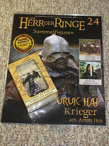 Der Herr der Ringe Sammelfiguren. Uruk-Hai-Krieger am Amon Hen. Nr. 24 mit Begleitheft