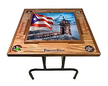 Puerto Rico Domino Table Morro  Natural