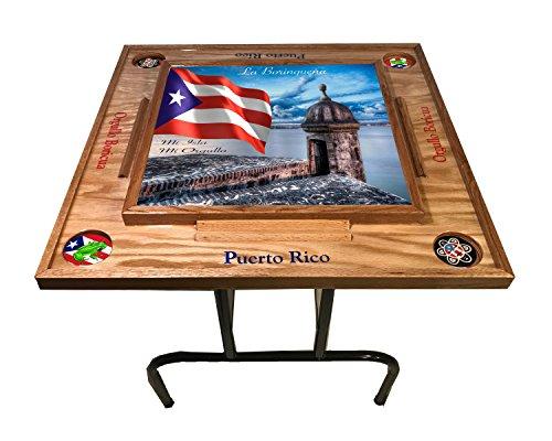 Puerto Rico Domino Table Morro (Natural)