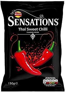 Sensations Thai Sweet Chilli Crisps 150g - Pack of 2