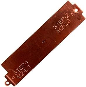 BestParts M.2 Shield Caddy for DELL G3 3500 G5 5500 G5 SE 5505 M.2 2280 NVME SSD Bracket YX0F3 0YX0F3 US