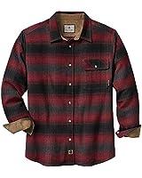 Legendary Whitetails Men's Buck Camp Flannel Shirt (Cabin Fever Plaid, Medium)
