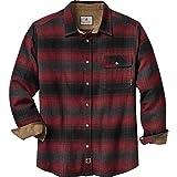 Legendary Whitetails Men's Buck Camp Flannel Shirt (Cabin Fever Plaid, X-Large)