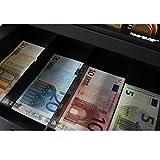 HMF 10015-02 Geldkassette mit Münzzählbrett 30 x 24 x 9 cm , schwarz - 5