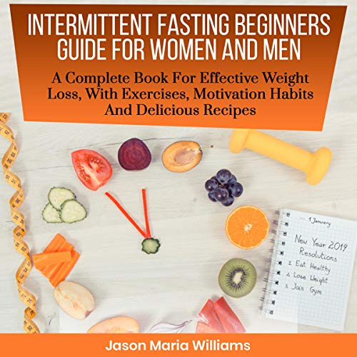 Intermittent Fasting Beginners Guide for Women and Men audiobook cover art