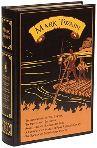 Compare Textbook Prices for Mark Twain: Five Novels Leather-bound Classics Lea Edition ISBN 9781607103165 by Twain, Mark,Machlan PhD, Elizabeth Boyle