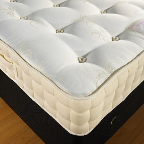 Hf4you 5Ft Kingsize 2000 Pocket Sprung Mattress Hand Side Stitched Free Next Day