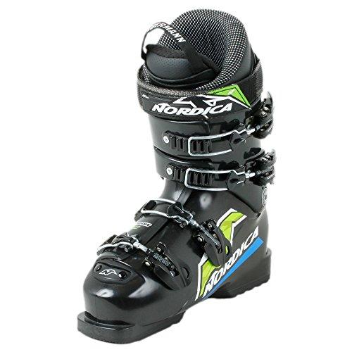 Nordica Dobermann Team Junioren Skistiefel Schwarz - 24,5
