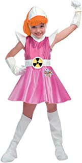 Childs Atomic Betty Deluxe Costume With Petticoat Dress