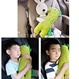 Best Car Pillow For Kids - Cute Doll Car Seat Strap Belt Cushion Cover Review