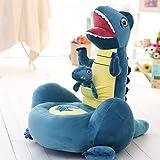 MAXYOYO Soft Velvet Cartoon Mother and Baby Dinosaur Washable Kid Bean Bag Sofa Chair...