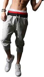 [セカンドルーツ] メンズ スウェット イージー サルエル パンツ M~XL