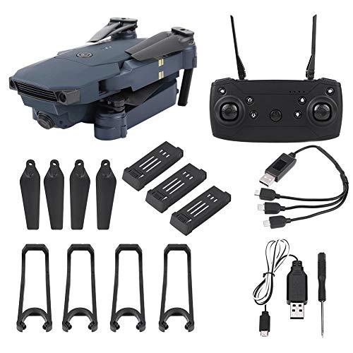 Drone FPV RC,L800 720P Hd Telecamera grandangolare Wifi pieghevole Quadcopter Rc Drone,Modalità senza testa One Key Return Altitude Hold,Rotolamento a 360 gradi, Supporto app,Nero