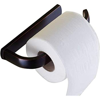 Oil Rubbed Bronze Toilet Roll Paper Holder Wall Mounted Toilet Tissue Bar Zba754