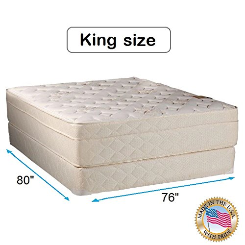 Fantastic Prices! Dream Sleep Beverly Hills Firm Foam Mattress Set with Mattress Cover Protector Inc...