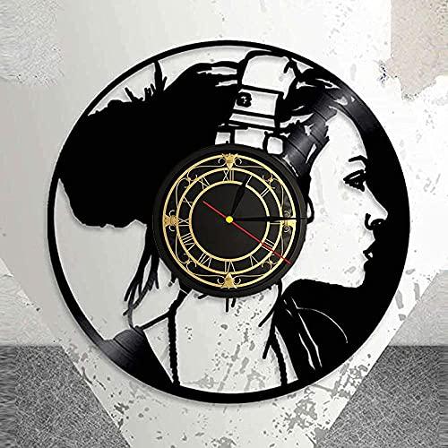 Reloj De Pared Videojuegos Clásicos En La Sala De Juegos Reloj De Pared Con Disco De Vinilo Con Diseño Led Obtenga Regalos Únicos Regalos Para Cumpleaños Ideas Navideñas Para Niños, Niñas, Hombres, Mu