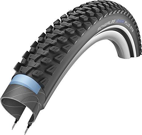 Schwalbe Unisex– Erwachsene Marathon Plus MTB HS468 Fahrradreife, schwarz, 29x2.25