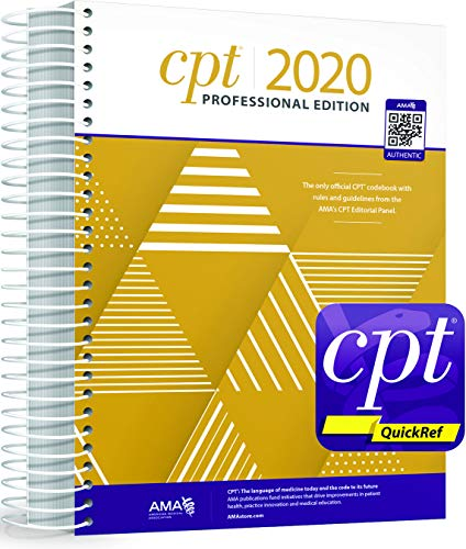 CPT Professional 2020 and CPT Quickref App Bundle